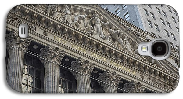 Nyse  New York Stock Exchange Wall Street Galaxy S4 Case by Susan Candelario
