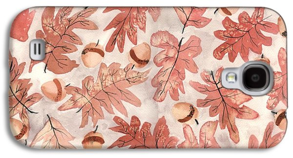 Oak Leaves And Acorns Galaxy S4 Case