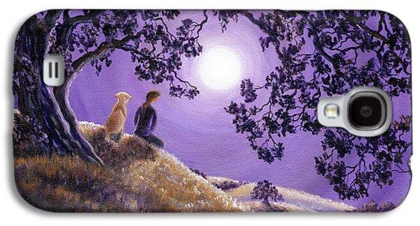 Oak Tree Meditation Galaxy S4 Case by Laura Iverson