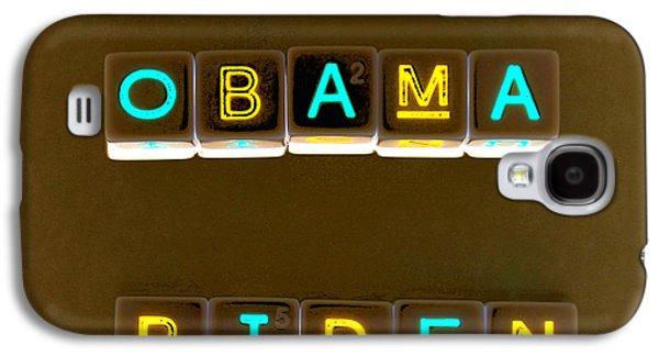 Obama Biden Words. Galaxy S4 Case by Oscar Williams