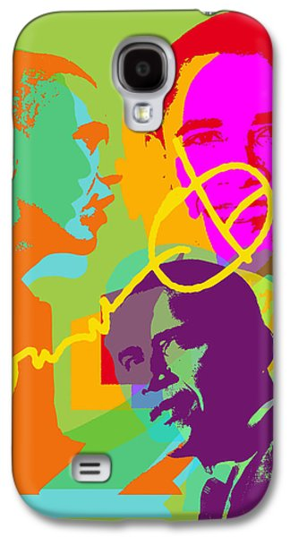 Obama Galaxy S4 Case by Jean luc Comperat