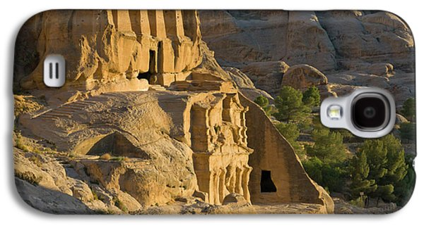 Obelisks Tomb, Petra, Jordan (unesco Galaxy S4 Case by Keren Su