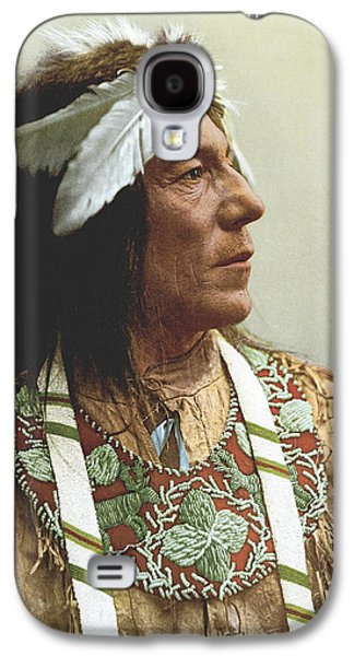 Obtossaway, An Ojibwa Chief Galaxy S4 Case by Underwood Archives