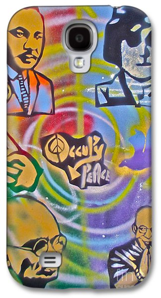 Occupy 4 Peace Galaxy S4 Case by Tony B Conscious