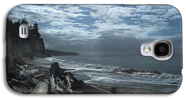 Ocean Beach Pacific Northwest Galaxy S4 Case