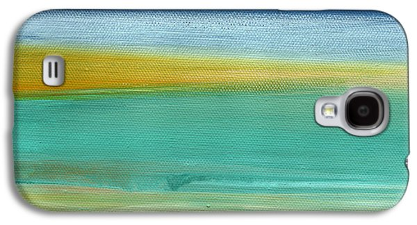 Ocean Blue 3- Art By Linda Woods Galaxy S4 Case