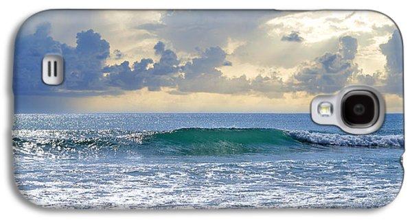 Ocean Blue Galaxy S4 Case by Laura Fasulo