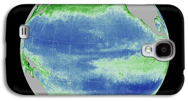 Ocean Chlorophyll Concentrations Galaxy S4 Case by Nasa/gsfc Ocean Ecology Lab