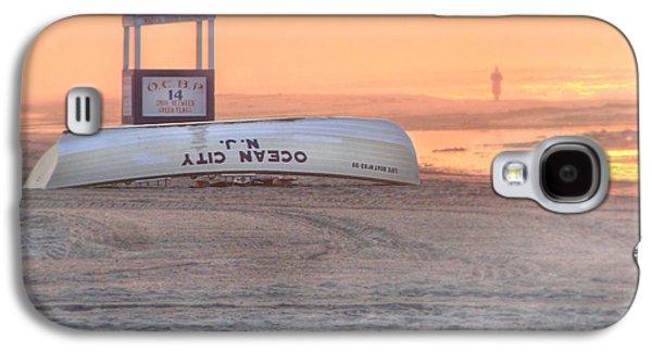 Ocean City Beach Patrol Galaxy S4 Case by Lori Deiter