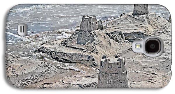 Ocean Sandcastles Galaxy S4 Case by Betsy Knapp
