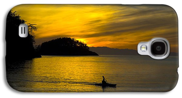 Ocean Sunset At Rosario Strait Galaxy S4 Case