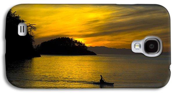 Ocean Sunset At Rosario Strait Galaxy S4 Case