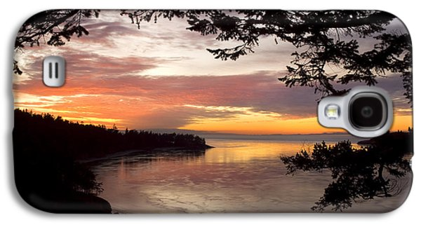 Ocean Sunset Deception Pass Galaxy S4 Case
