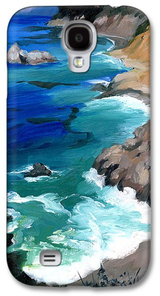 Ocean View At Big Sur Galaxy S4 Case by Alice Leggett