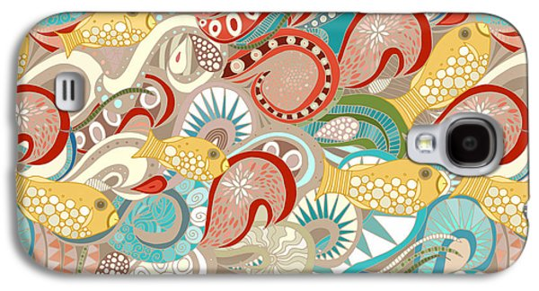 Ocean Waves Galaxy S4 Case by Sharon Turner
