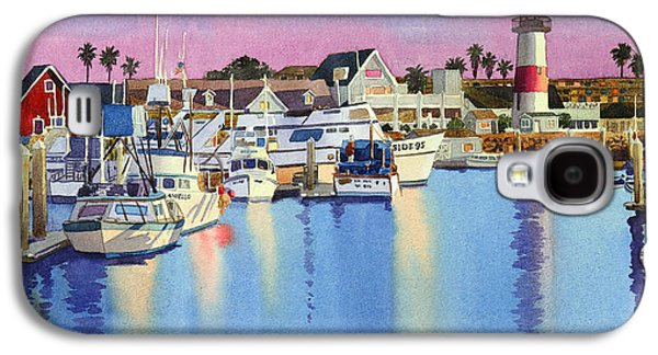 Oceanside Harbor At Dusk Galaxy S4 Case by Mary Helmreich
