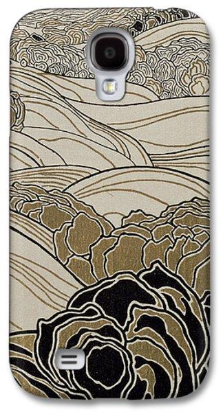 October Galaxy S4 Case by Adolf Bohm