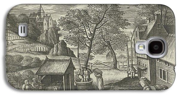 October, Julius Goltzius, Gillis Mostaert Galaxy S4 Case by Julius Goltzius And Gillis Mostaert (i) And Hans Van Luyck