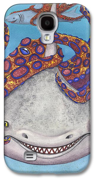 Octopied Galaxy S4 Case by Catherine G McElroy