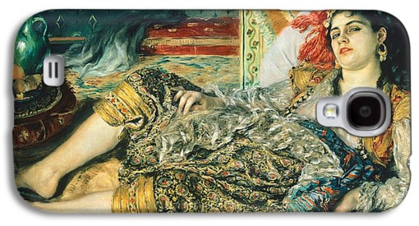 Odalisque An Algerian Woman Galaxy S4 Case by Pierre Auguste Renoir