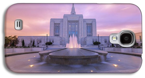 Ogden Temple I Galaxy S4 Case by Chad Dutson