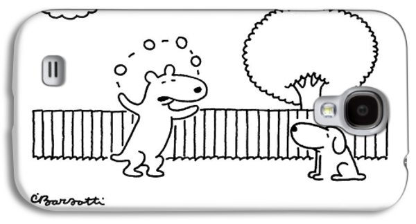 O.k., Laugh, But This Is Going To Be My Ticket Galaxy S4 Case by Charles Barsotti
