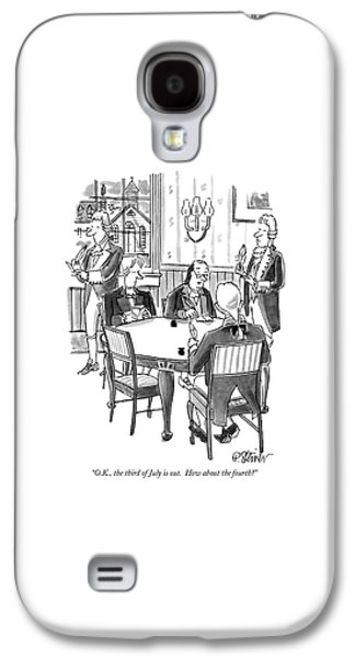 O.k., The Third Of July Is Out.  How Galaxy S4 Case by Peter Steiner