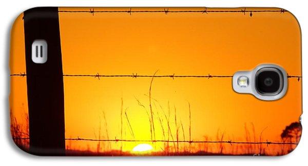 Okeechobee Farm Sunset Galaxy S4 Case by Lynda Dawson-Youngclaus
