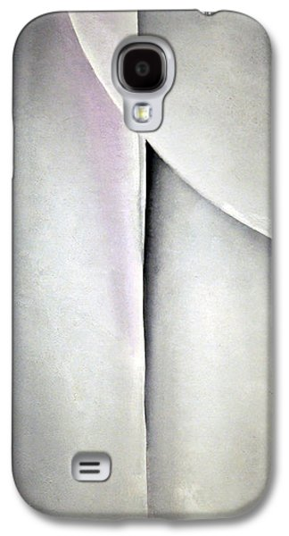 O'keeffe's Line And Curve Galaxy S4 Case by Cora Wandel