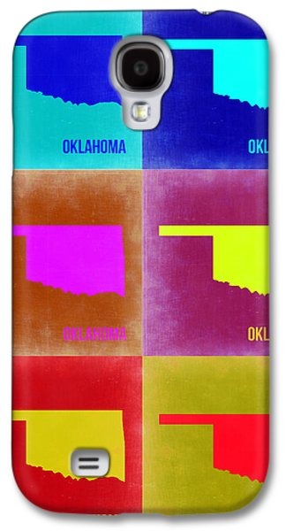 Oklahoma Pop Art Map 2 Galaxy S4 Case