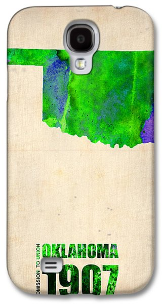 Oklahoma Watercolor Map Galaxy S4 Case