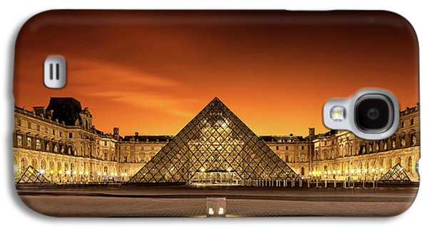 Louvre Galaxy S4 Case - Old & New by Christophe Kiciak