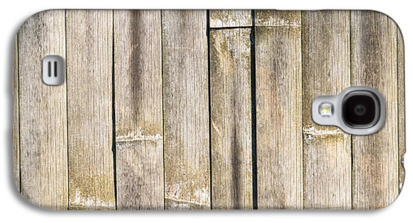 Old Bamboo Fence Galaxy S4 Case by Alexander Senin