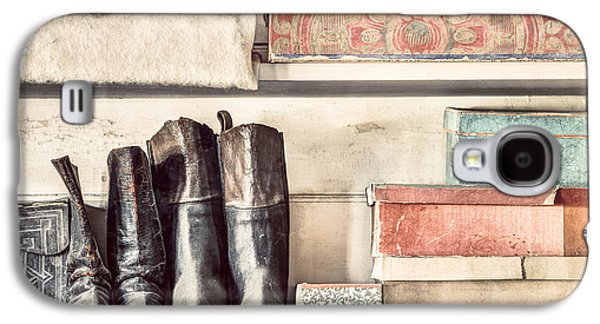 Old Boots And Boxes - On The Shelves Of A 19th Century General Store Galaxy S4 Case