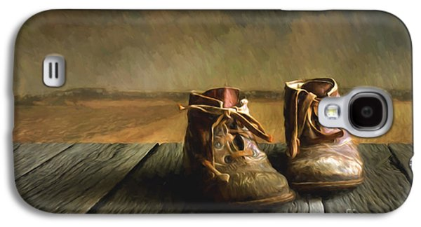 Old Boots Galaxy S4 Case by Veikko Suikkanen