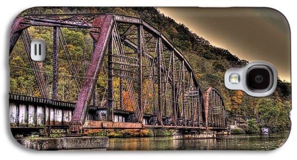 Old Bridge Over Lake Galaxy S4 Case by Jonny D