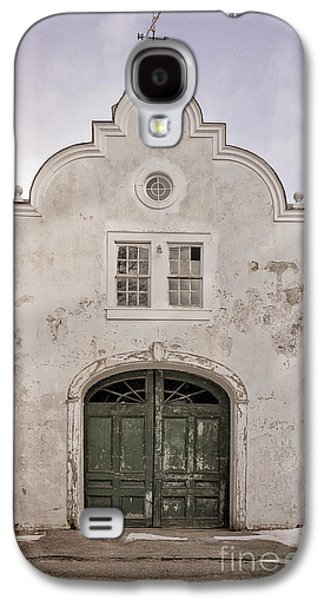 Old Building From The Guilded Age With Weathervane Galaxy S4 Case by Edward Fielding