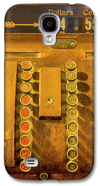 Old Cash Register Decor At The Historic Galaxy S4 Case by Chuck Haney