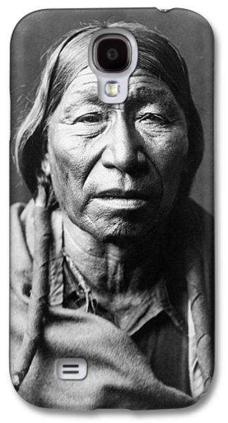 Old Cheyenne Man Circa 1910 Galaxy S4 Case by Aged Pixel