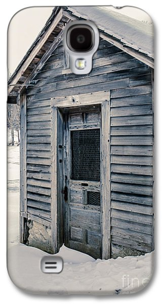 Old Chicken Coop Etna New Hampshine In The Winter Galaxy S4 Case