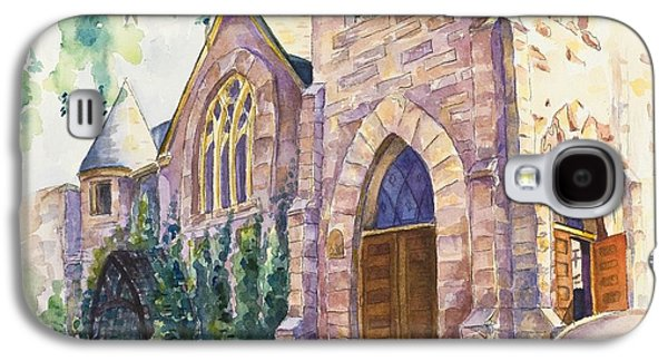 old church in Fort Collins Galaxy S4 Case by Svetlana Howe