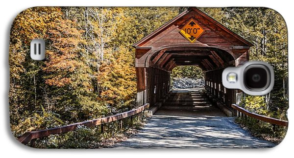 Old Covered Bridge Vermont Galaxy S4 Case