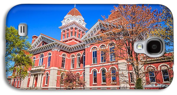 Old Crown Point Courthouse Galaxy S4 Case by Paul Velgos