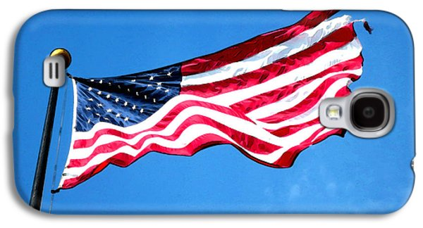 Old Glory - American Flag By Sharon Cummings Galaxy S4 Case