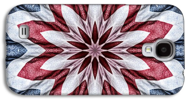 Old Glory Galaxy S4 Case by Cricket Hackmann