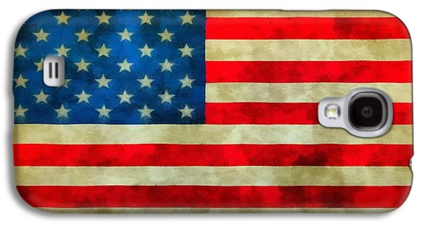 Old Glory Galaxy S4 Case by Dan Sproul