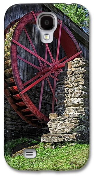 Old Grist Mill Vermont Galaxy S4 Case by Edward Fielding