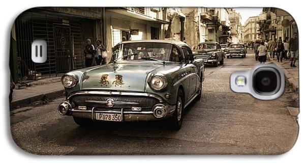 Downtown Galaxy S4 Case - Old  Havana  Street by Alper Uke