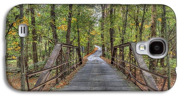 Old Iron Bridge At Panther Creek Galaxy S4 Case
