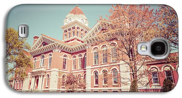 Old Lake County Courthouse Retro Photo Galaxy S4 Case by Paul Velgos